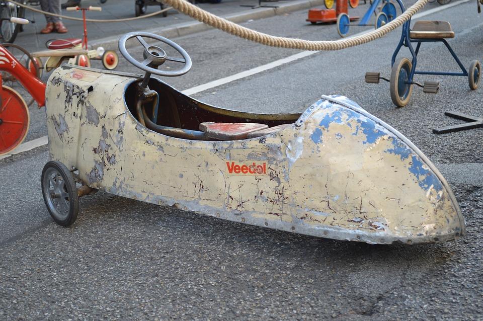 Pedal Car, Toys, Classic