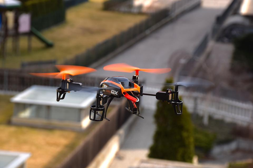 Drone, Rc, Blade 180 Qx Hd, Quadrocopter, Toys, Rotors
