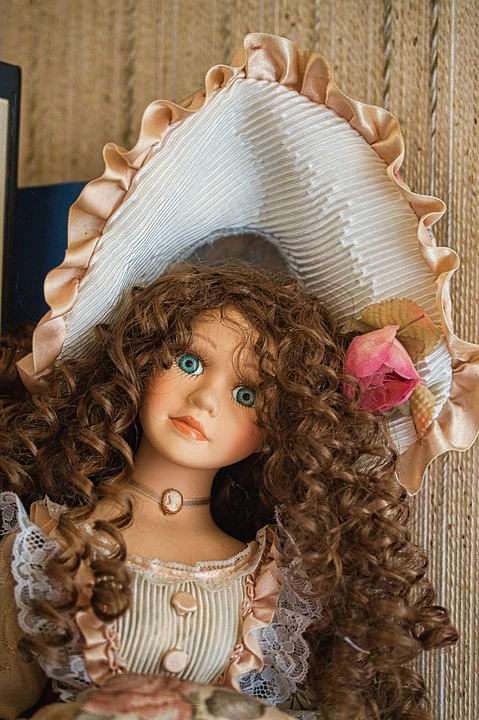 Doll, Toy, Collection, Porcelain, Dolls, Toys, Old