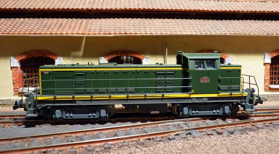 Model Railroad, Train, Model, Railway, Toys, Locomotive