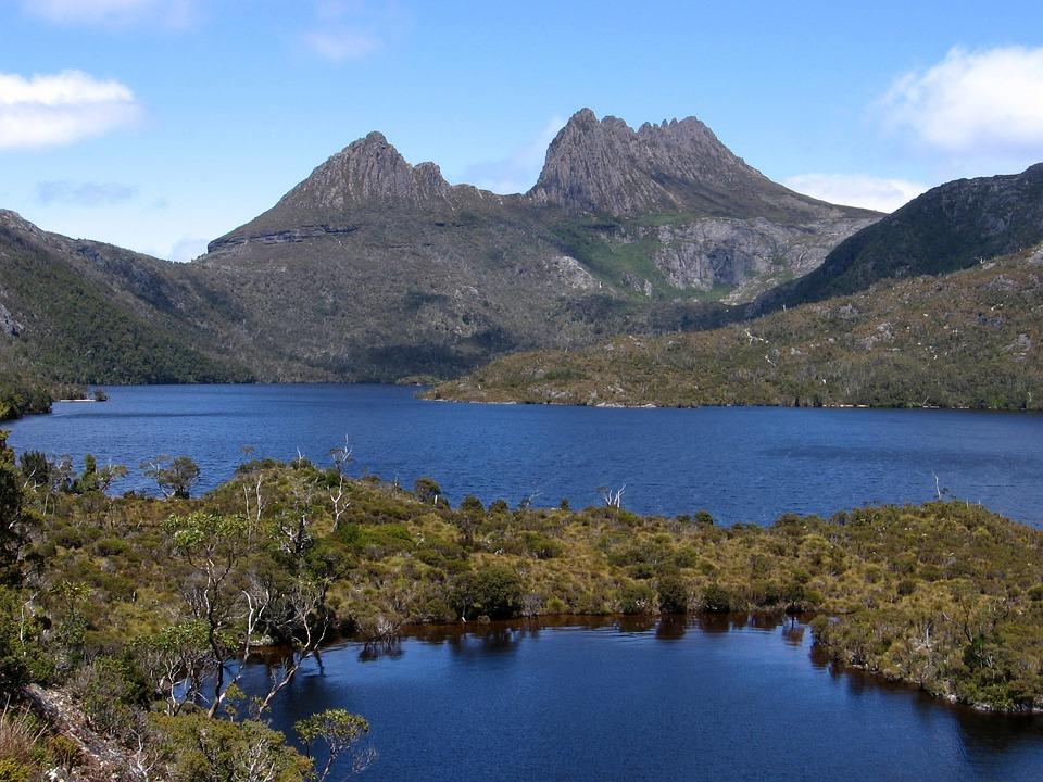 Tasmania, Cradle Mountain, Hiking, Track, Mountains