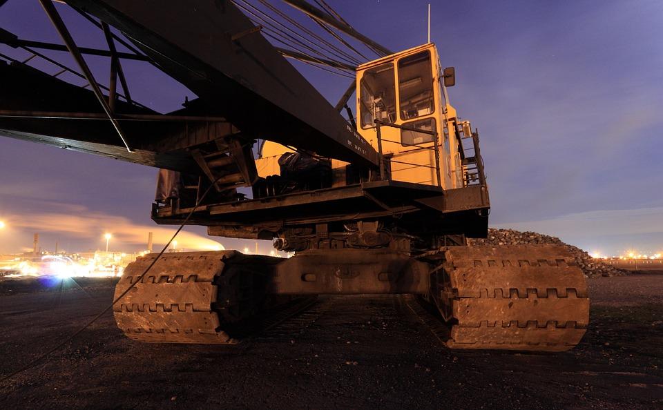 Netherlands, Ijmuiden, Crane, Equipment, Track, Machine
