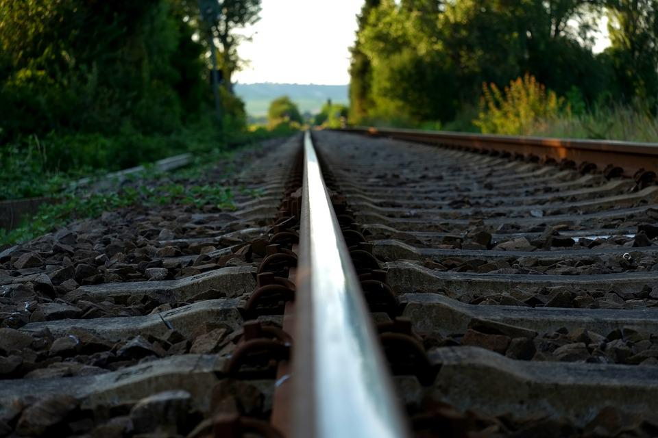 Rail, Railway, Railway Rails, Track, Train