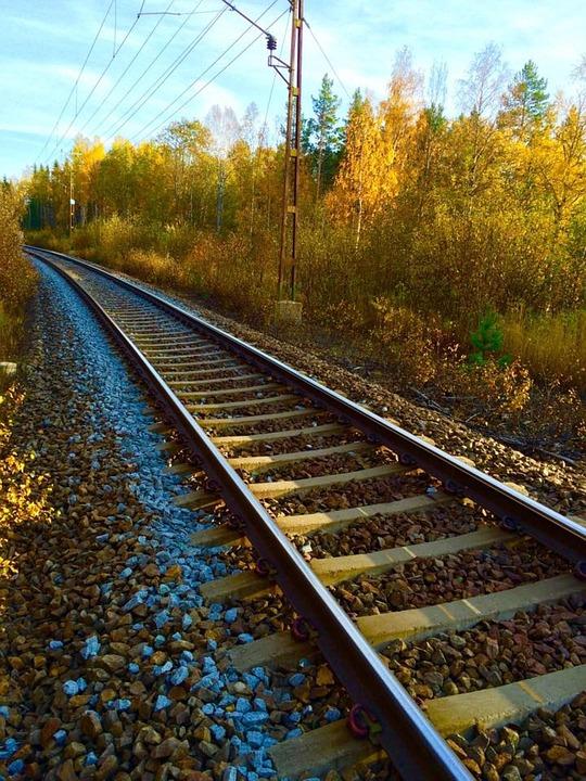 Track, Rail, Railway, Railroad Tracks, Railroad Track