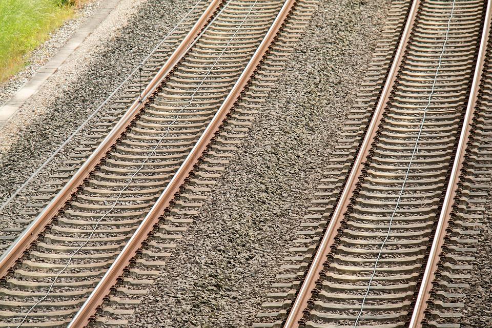 Rails, Track, Threshold, Railway, Railroad Track