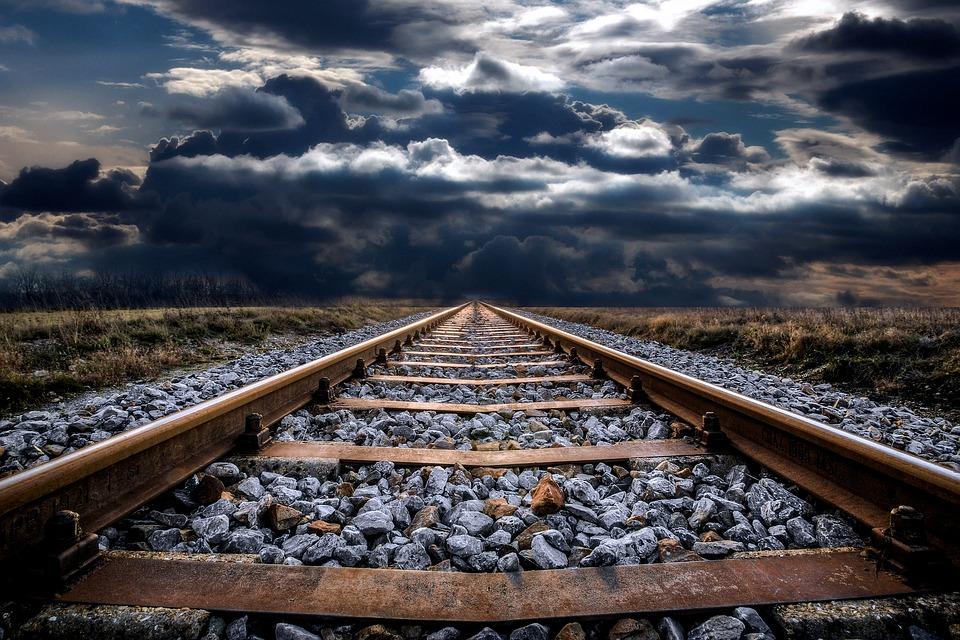 Railway Track, Abandoned, Railroad, Railway, Track, Old