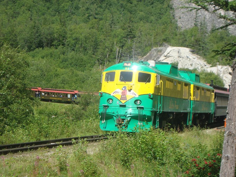 Skagway, Alaska, Train, Track, Transportation