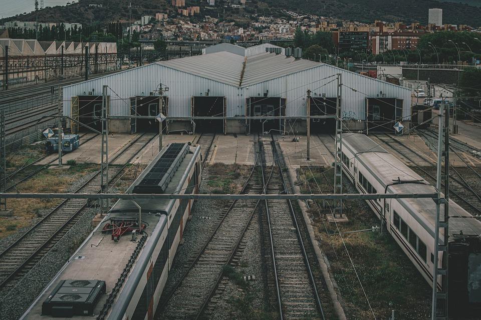 Railway, Rail Yard, Tracks, Railway Yard, Railroad Yard