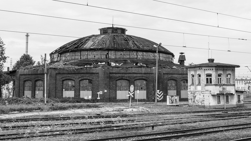 Railway Station, Train, Railway, Gleise, Tracks, Seemed