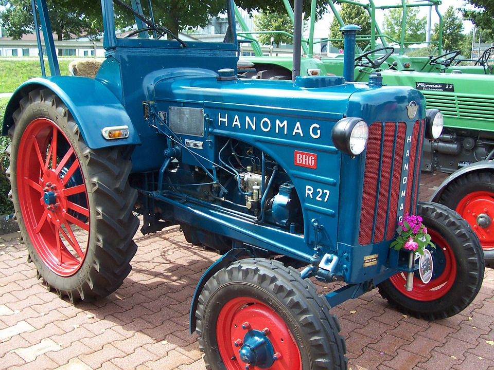 Tractor, Oldtimer, Hanomag, Agricultural Machinery