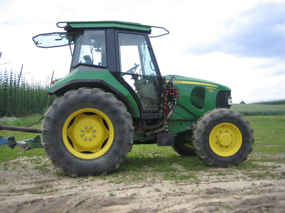Tractor, Agriculture, Vehicle, Working Machine