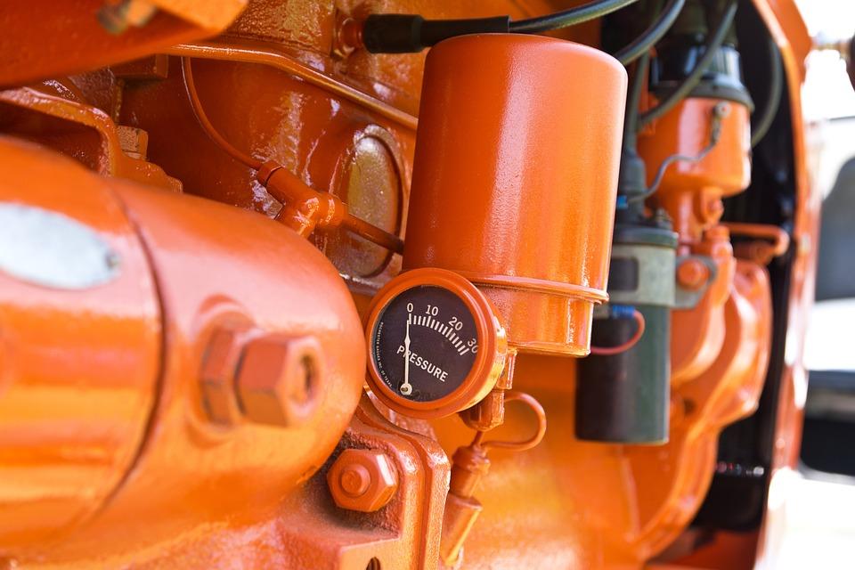 Tractor, Vehicle, Farm, Farming, Orange, Allis