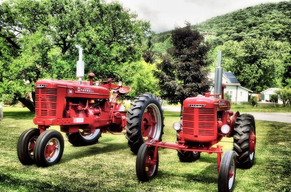 Tractor, Farm, Field, Farming, Rural, Equipment