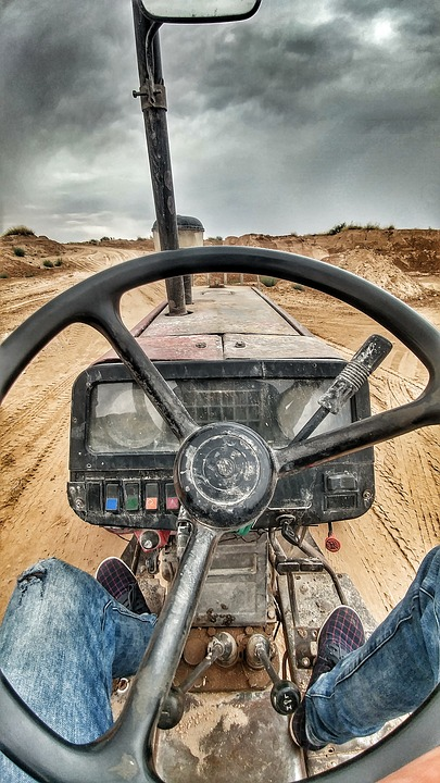 Work, Classical, Mechanics, Tractor