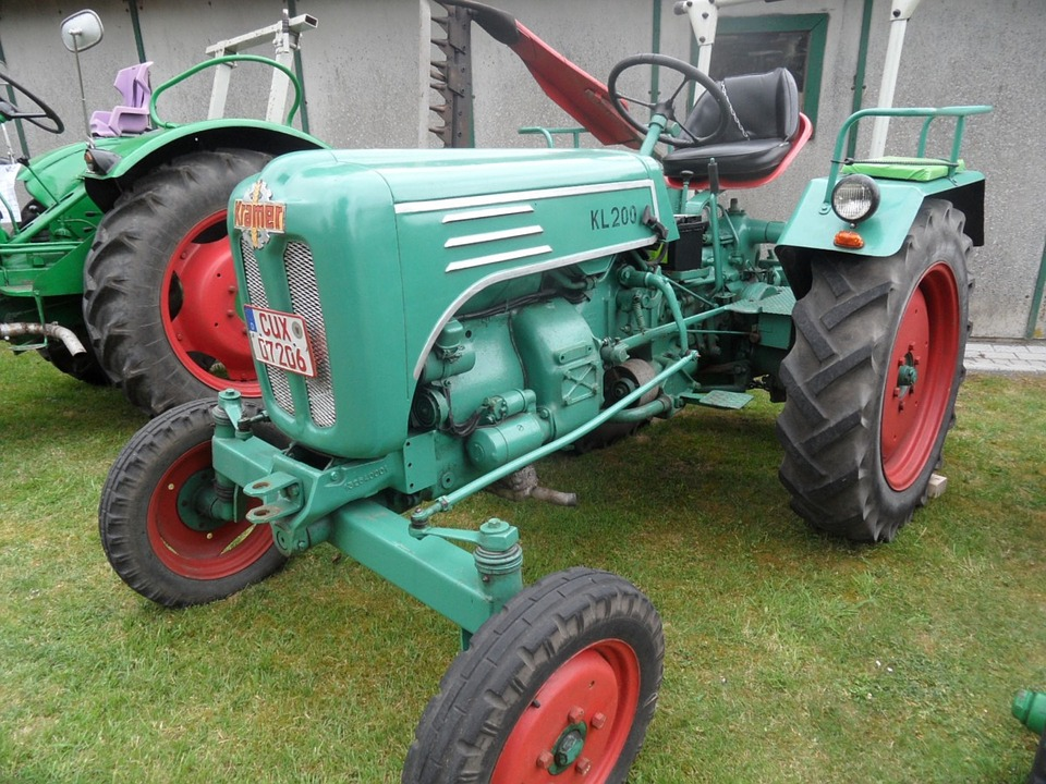Tractor, Oldtimer, Kramer, Tug