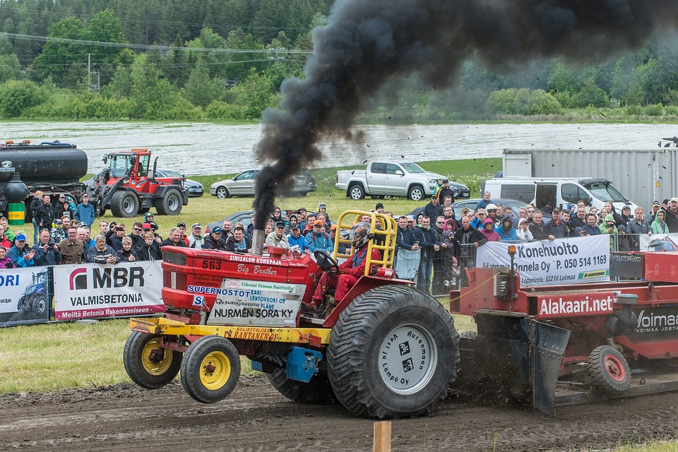Tractor, Contest, Race