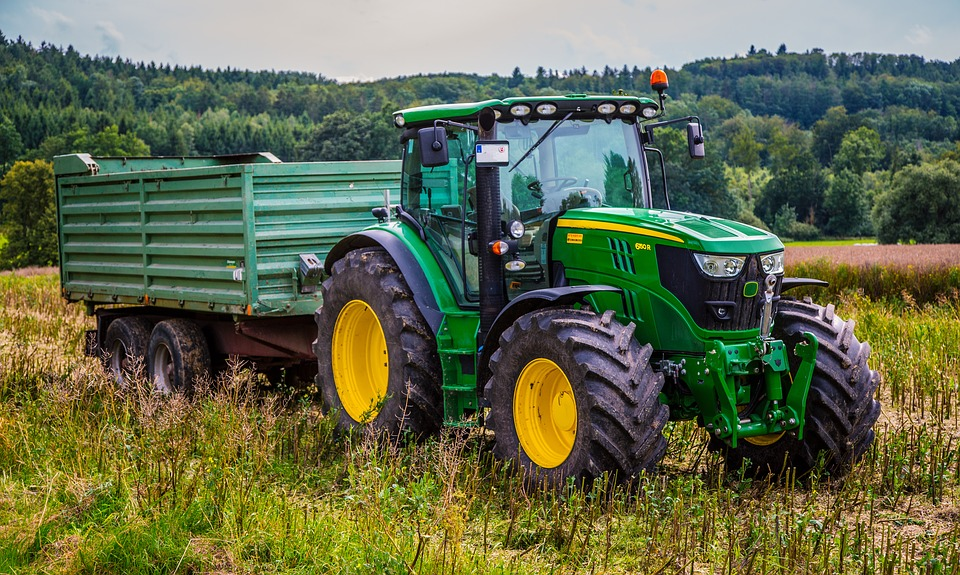 Tractor, Agricultural Machine, Agriculture, Tractors