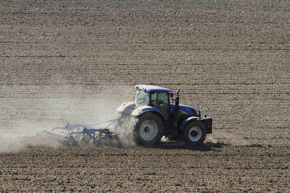 Tractors, Blue, Tractor