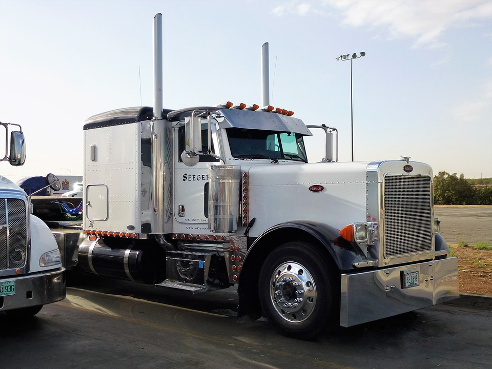 Transport, Truck, Vehicle, Chrome, Parking, Tractor