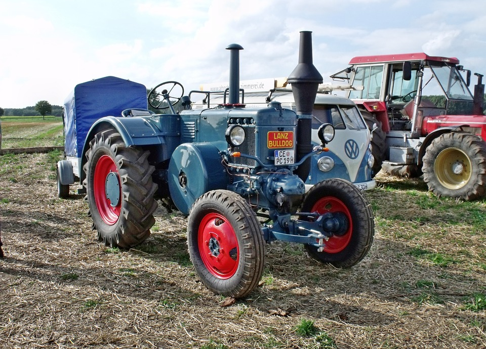 Tractor, Tractors, Vehicle, Commercial Vehicle