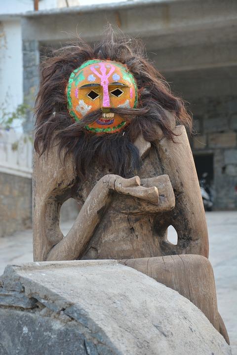 Rajasthan, India, Tradition, Tribe Dance, Folk