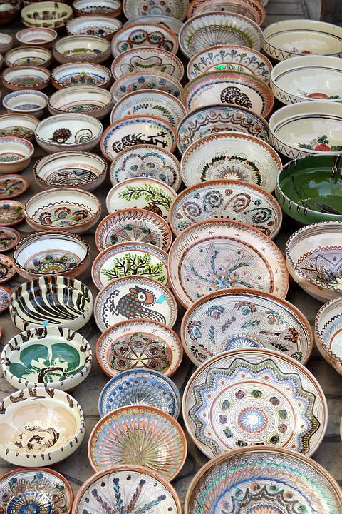 Ceramics, Pots, Tradition, Horezu, Romania, Traditional
