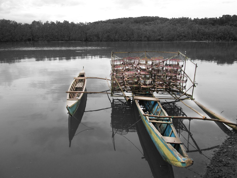 River, Nature, Traps, Boat, Tradition, Water, Nautical