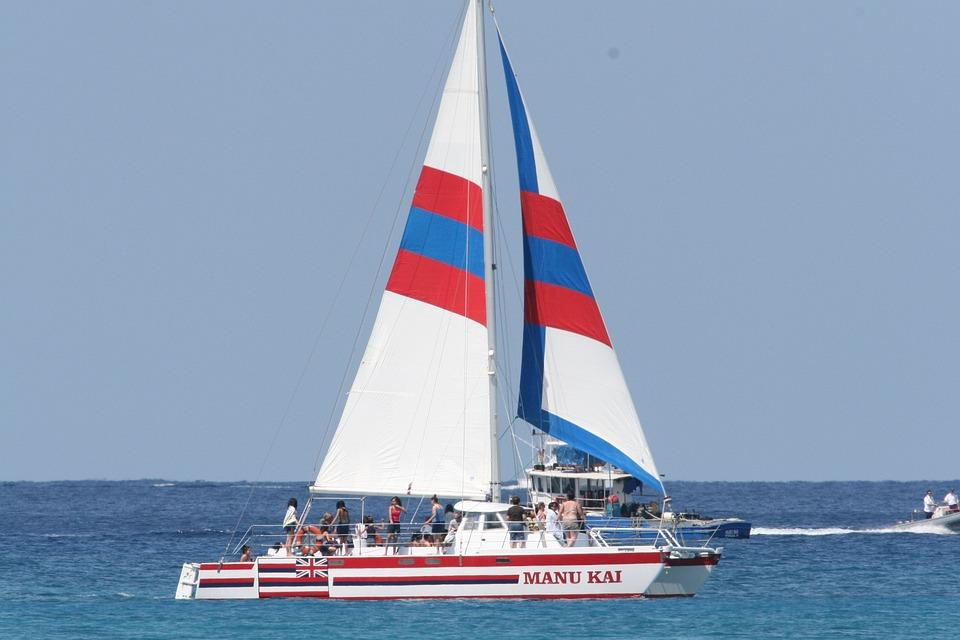 Sail Boat, Ocean, Sky, Boat, Ship, Tradition, Sea