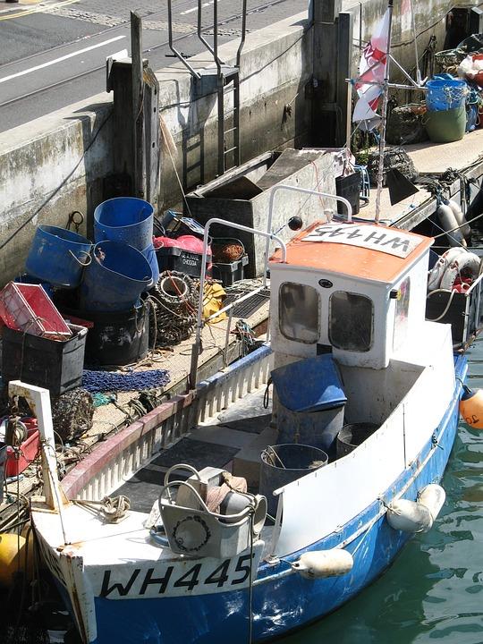 Fishing Boat, Weymouth, Dock, Boat, Ship, Tradition