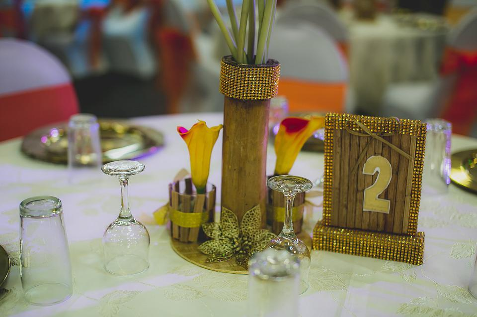 Events, Traditional, Nigeria, African, Center Piece