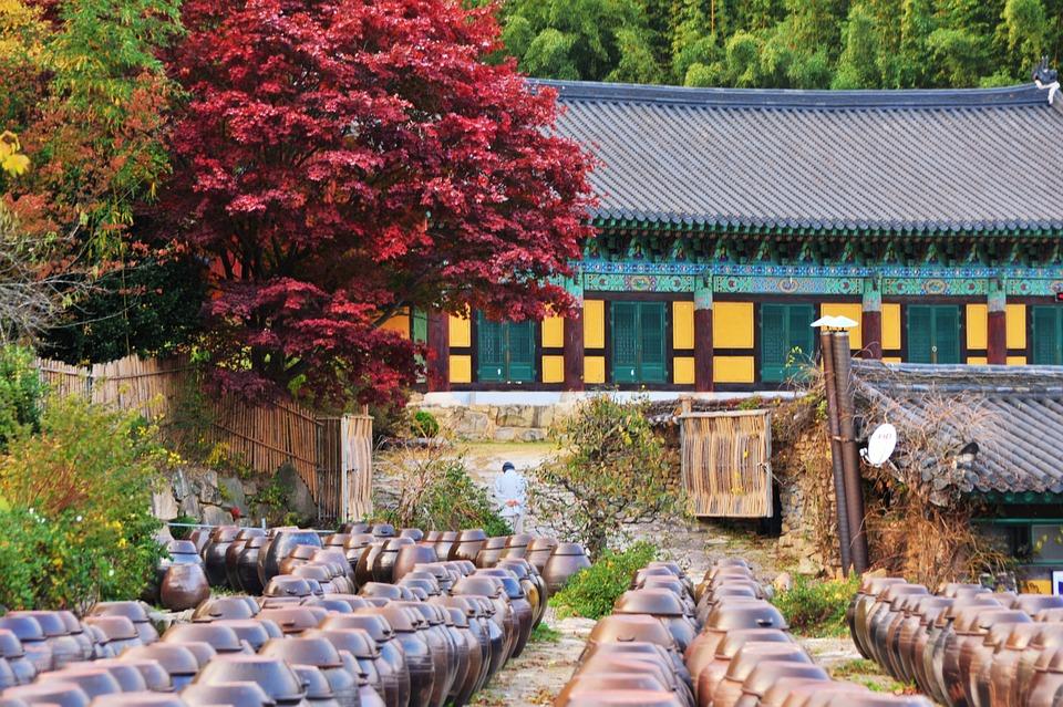 Buddhism, Traditional, Religion, Jar, Asia, Culture