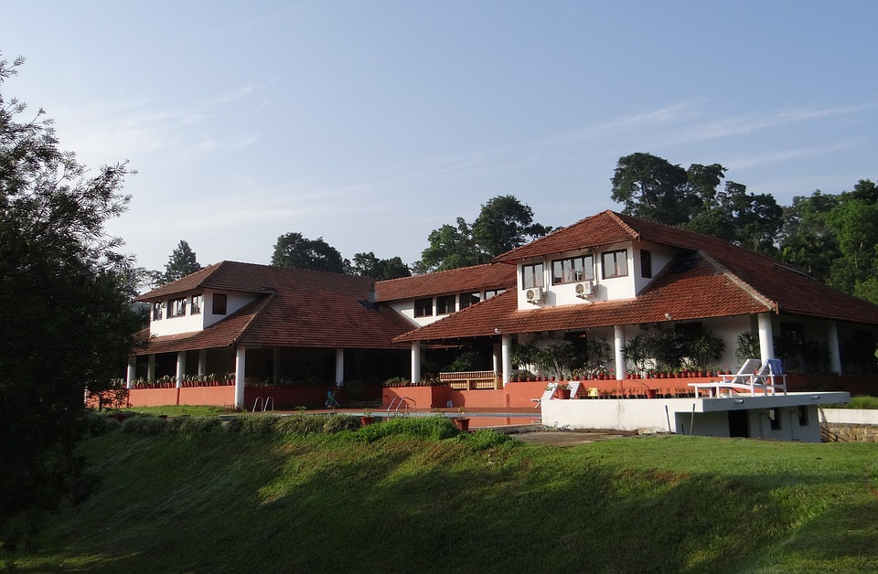 Building, Traditional, Forest Lodge, Holiday, Kodagu
