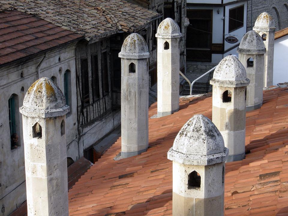 Chimney, Turkey, Safronbolu, Village, Traditional Life
