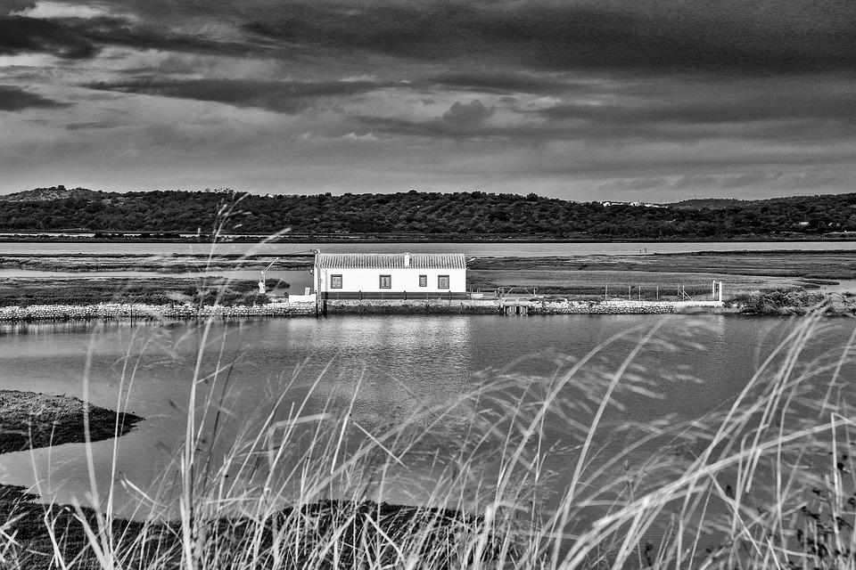 River, Delta, Landscape, Portugal, Traditional