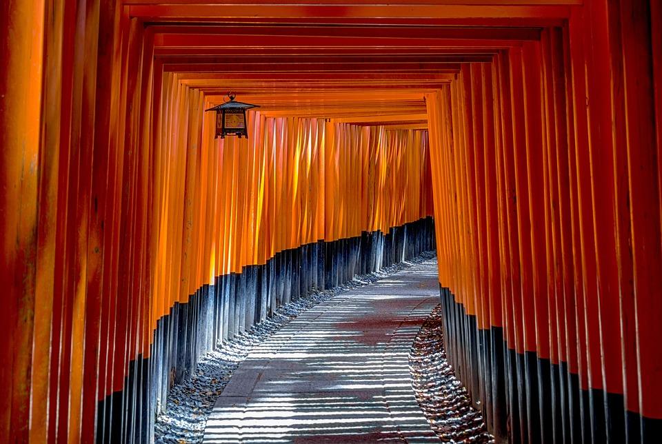 Torii, Gate, Architecture, Culture, Traditional, Japan
