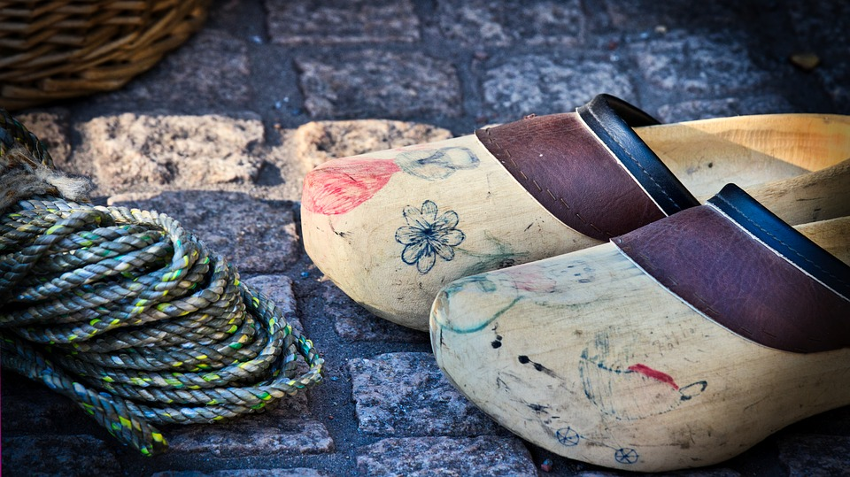 Wooden Shoes, Shoes, Market, Traditionally, Holland