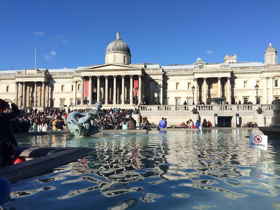 London, Square, Trafalgard