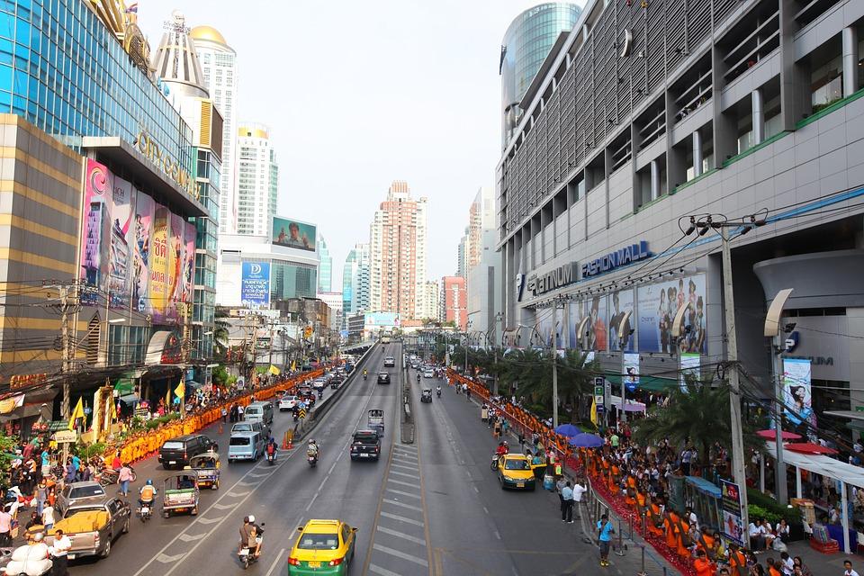 Thailand, Bangkok, Street, Road, Traffic, Urban, City