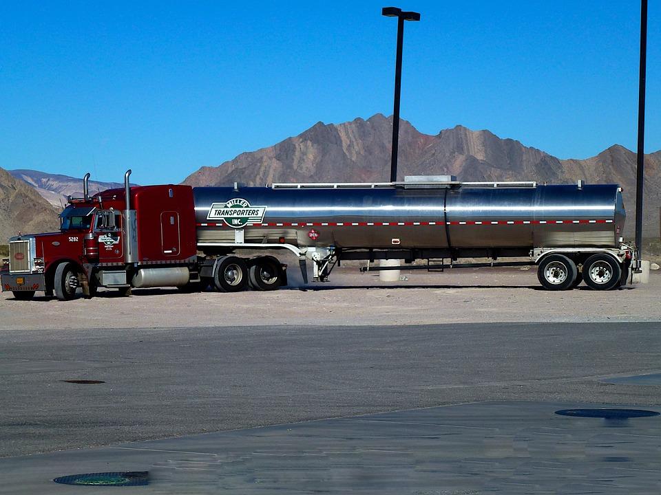 Truck, American, Vehicle, Transport, Classical, Traffic