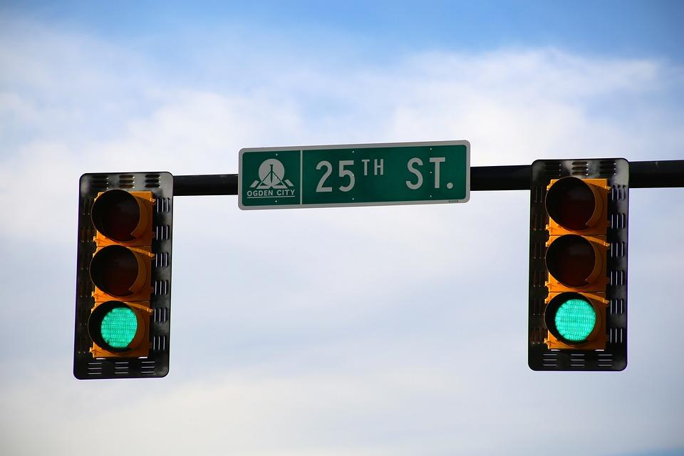 Traffic Lights, Stoplight, Light, Green, Go, Traffic