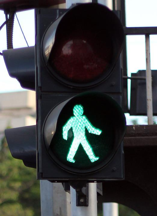 Traffic Lights, Green, Walk, Go, Sign, Traffic, Signal