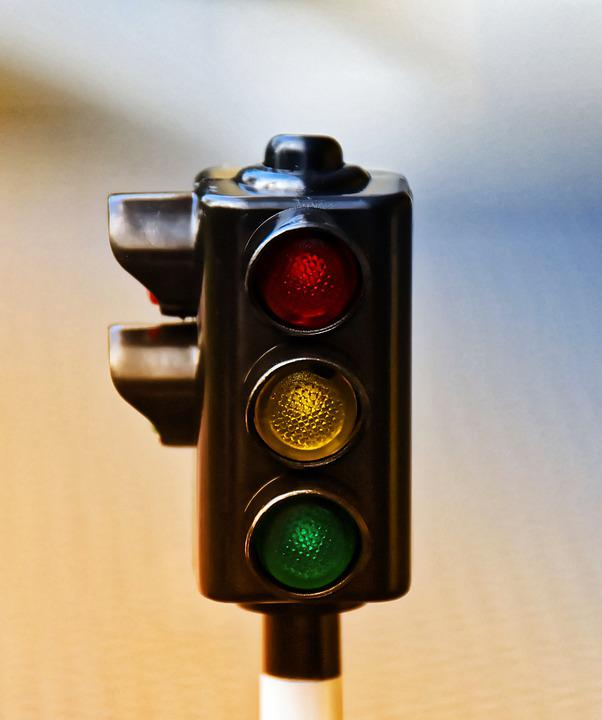 Traffic Lights, Traffic Signal, Road, Traffic