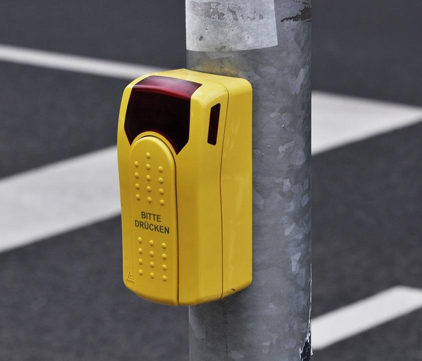 Traffic Light, Signal, Traffic, Button, Pedestrians