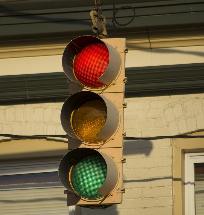 Sign, Red Light, Signal, Traffic Signal, Stop