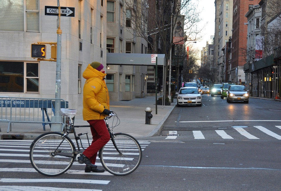 Street, Road, Traffic, City, Wheel, Nyc, Urban, Bike