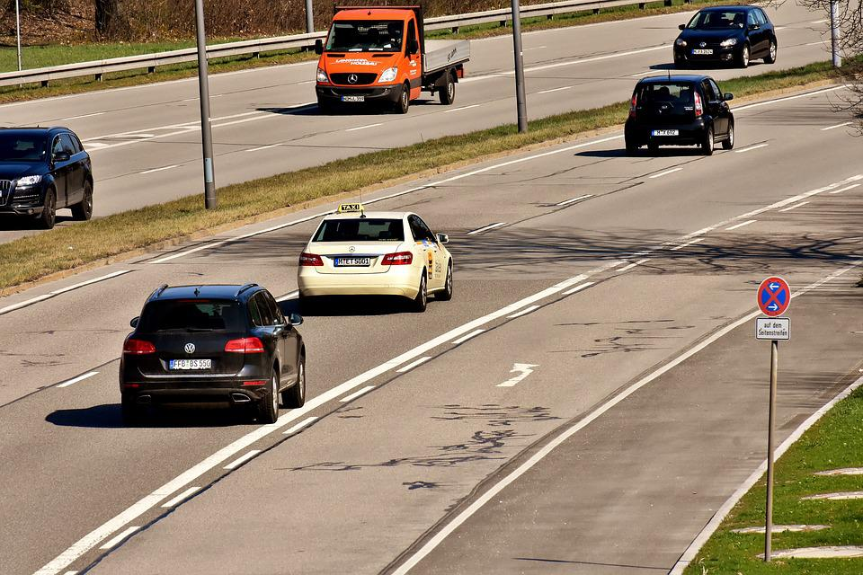 Taxi, Road, Traffic, Auto, Drive, Shield