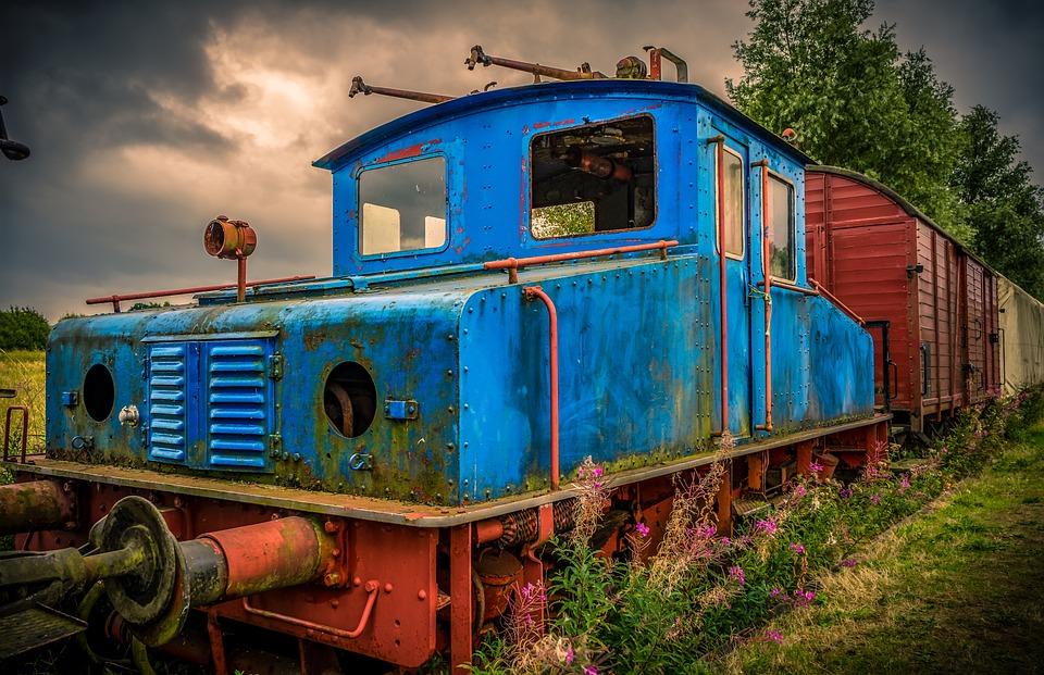 Railway, Tractor, Lock, Locomotive, Traffic, Historical