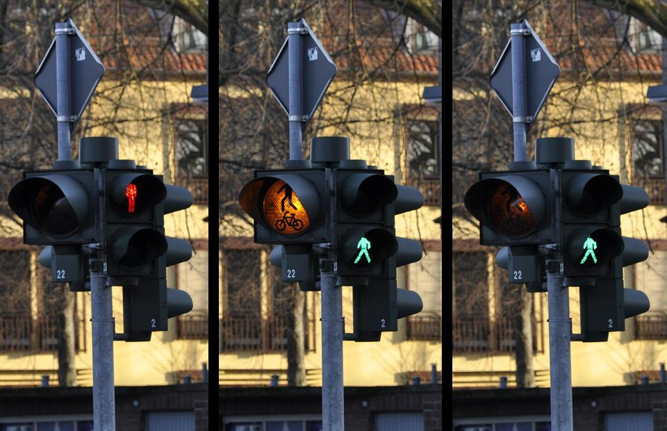Traffic Light, Signal, Pedestrian, Traffic, Street