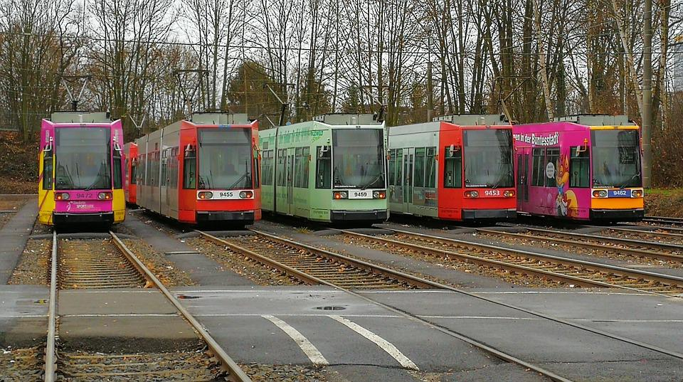 Means Of Transport, Tram, Traffic