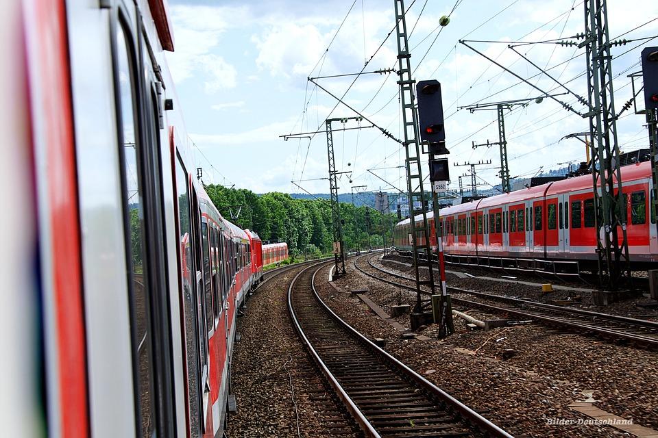 Train, Railway Station, Railway, Traffic, Transport